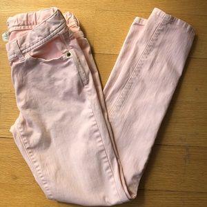 J. Crew (Crewcuts) toothpick pink jeans